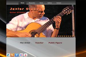 Web Javier Olondo