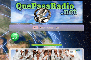 web Que Pasa Radio